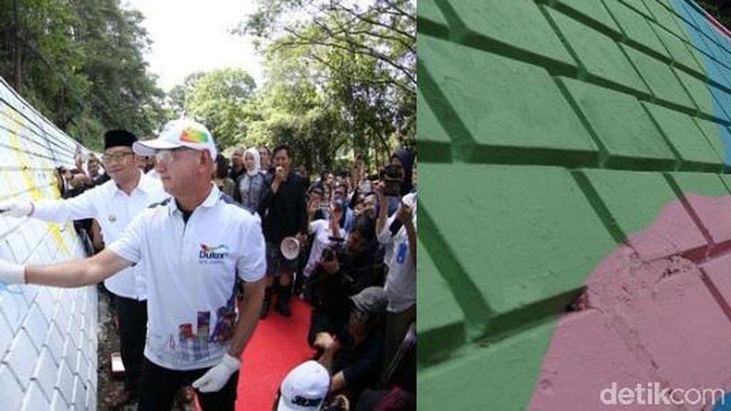 Dinding Jalan Siliwangi Bandung Berganti Rupa, Kamu Suka yang Mana?