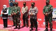 Panglima TNI-Kapolri Puji Kekompakan Forkopimda Jatim saat Tinjau Vaksinasi