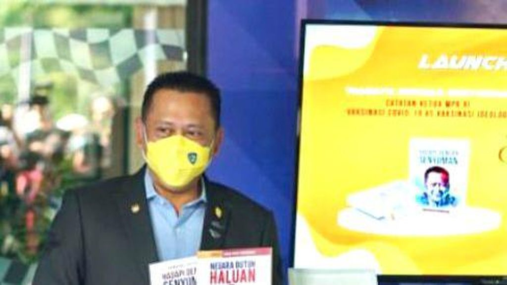 Ludes Terjual, Buku Ke-22 Bamsoet Negara Butuh Haluan Cetak Ulang