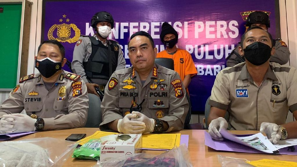 Pembunuh Wanita di Hotel Pekanbaru Ditangkap, Ternyata Suami Siri Korban
