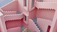 Melihat La Muralla Roja, Apartemen Squid Game di Spanyol