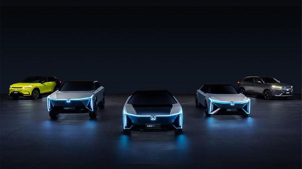 Honda Makin Serius Lahirkan Mobil Listrik, Siapkan 10 Model untuk Diluncurkan