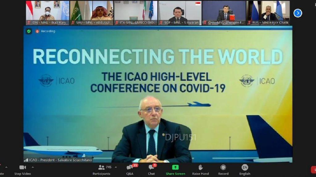 RI Cari Solusi Perbaikan Penerbangan Sipil di Pertemuan Anggota ICAO