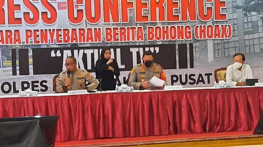 Arief Direktur TV Swasta Penyebar Hoax Ketua HIPMI Bondowoso
