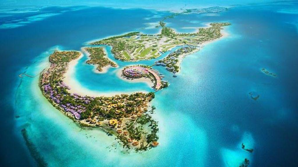 Proyek Laut Merah Arab Saudi: Si Super Raksasa, Ada 9 Pulau-50 Hotel Mewah