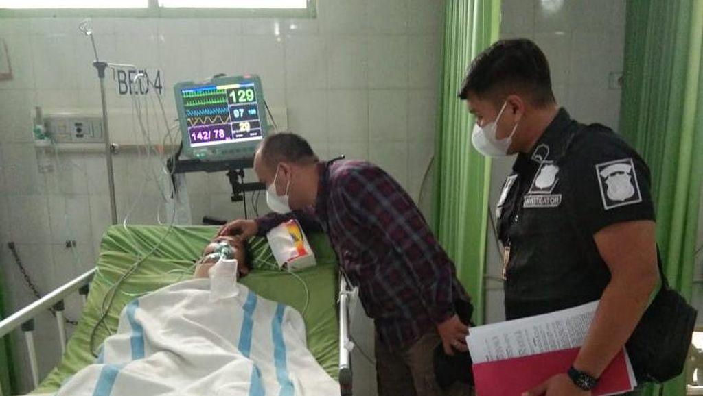 Tolong, Bocah SD Sumsel Patah Leher Akibat Dikeroyok Tak Punya Biaya Operasi