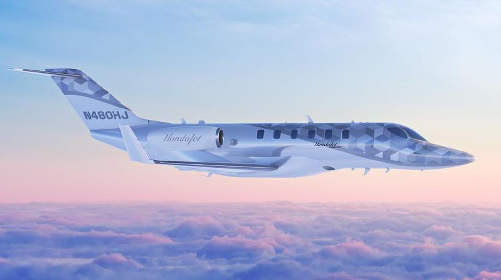 Pesawat Jet Laris Honda Punya Model Baru, Bisa Belah Amerika Serikat Sekali Terbang