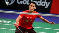 Piala Thomas: Jonatan Menangi Duel Sengit, Indonesia Ungguli Denmark 2-1