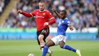 Seru! Leicester Vs Man United 1-1 di Babak Pertama
