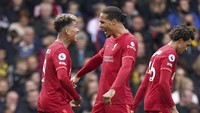 Hasil Liga Inggris: Firmino Hat-trick, Liverpool Hajar Watford 5-0