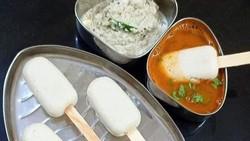 Makin Aneh! Di India Kini Ada Es Krim dari Kue Beras dan Kuah Kari