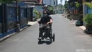Kreatif! Pemuda Kudus Ini Ciptakan Kursi Roda Elektrik Berkendali Joystick