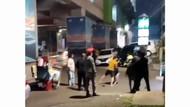 Polisi Selidiki Viral Baku Hantam Sekelompok Pria di Blok M Jaksel