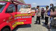 Vaksinasi Keliling Desa Bakal Mempercepat Vaksinasi di Sidoarjo