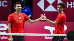 French Open 2021: Fajar/Rian Mulus ke Perempatfinal