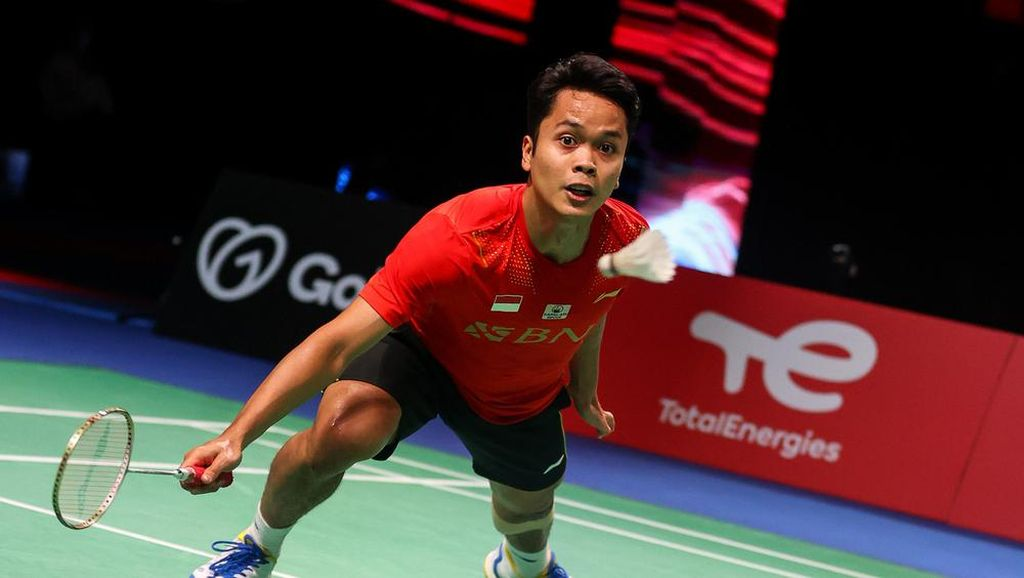 Final Piala Thomas: Anthony Menang, Indonesia 1-0 China