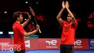 Final Piala Thomas: Fajar/Rian Girang Bukan Kepalang