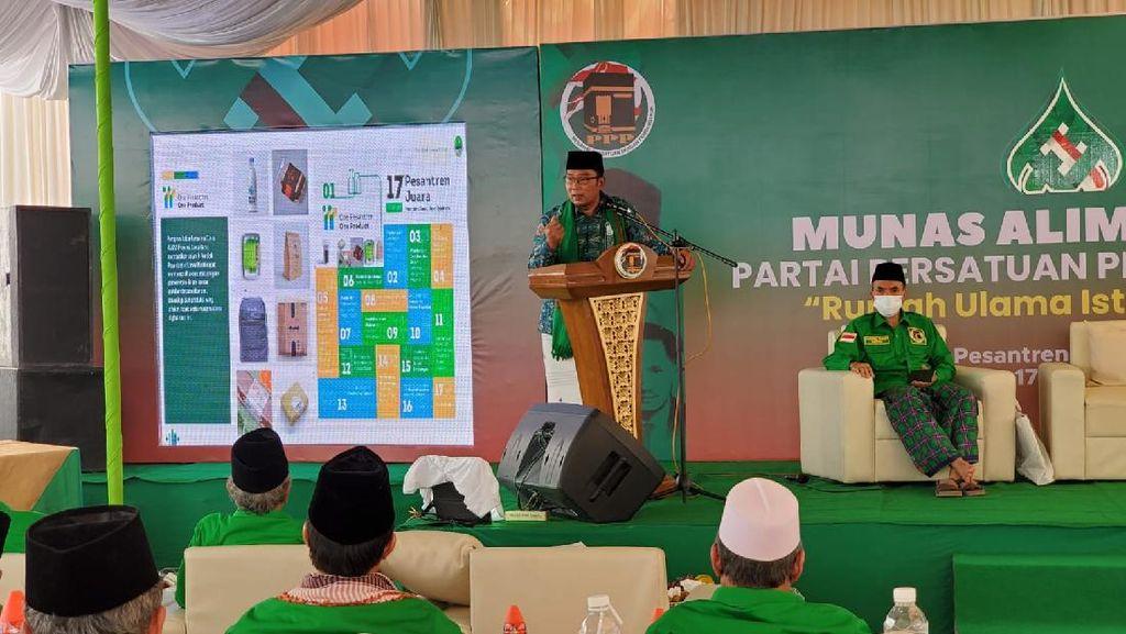 Ridwan Kamil Ungkap Istikharah Cari Partai, Buat Kendaraan Pilpres?