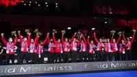 Respek! Para Pemain Denmark Kompak Ucapkan Selamat ke Indonesia