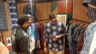 Ketika Sandiaga Uno Traktir Bima Arya Batik Produk UMKM di Bogor