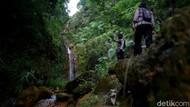 Napak Tilas Curug Cikoneng TKP Ditemukannya Gibran di Gunung Guntur