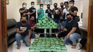 Polda Riau Tangkap 2 Pengedar Narkoba Jaringan Aceh, 81 Kg Sabu Disita