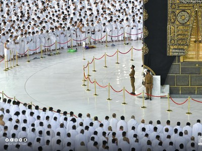 Setelah 1,5 Tahun, Salat di Makkah dan Madinah Bisa Rapat Lagi