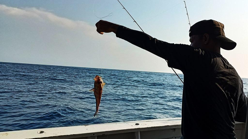 Serunya Mancing Ikan Kakap-Tenggiri di Perairan Selat Sunda