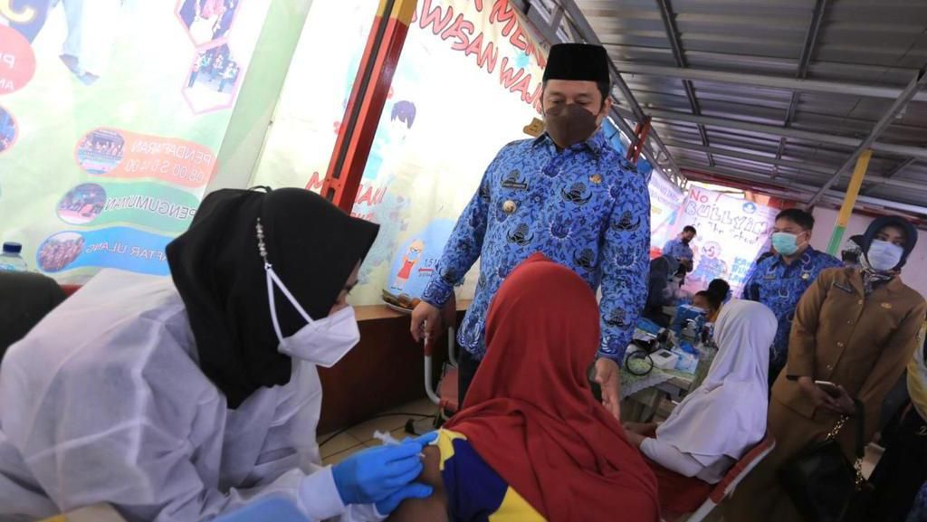 Akan Buka PTM SD Pekan Depan, Pemkot Tangerang Vaksin Anak 12 Tahun
