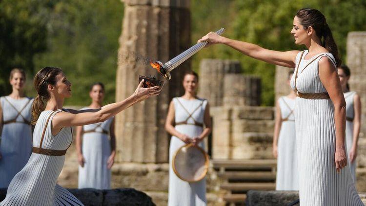 Api Olimpiade Musim Dingin 2022 Siap Dibawa dari Yunani ke Beijing