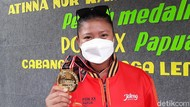 Peraih Medali Emas PON Lempar Lembing Asal Banyumas Diarak Keliling Desa