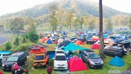 Rombongan Camper Van Padati Wisata di Banyuwangi