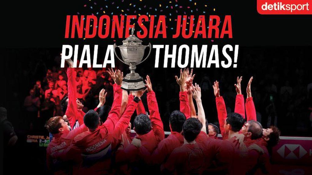 Mengapa Bendera Merah Putih Tak Dikibarkan di Piala Thomas Cup? Ini Jawabannya