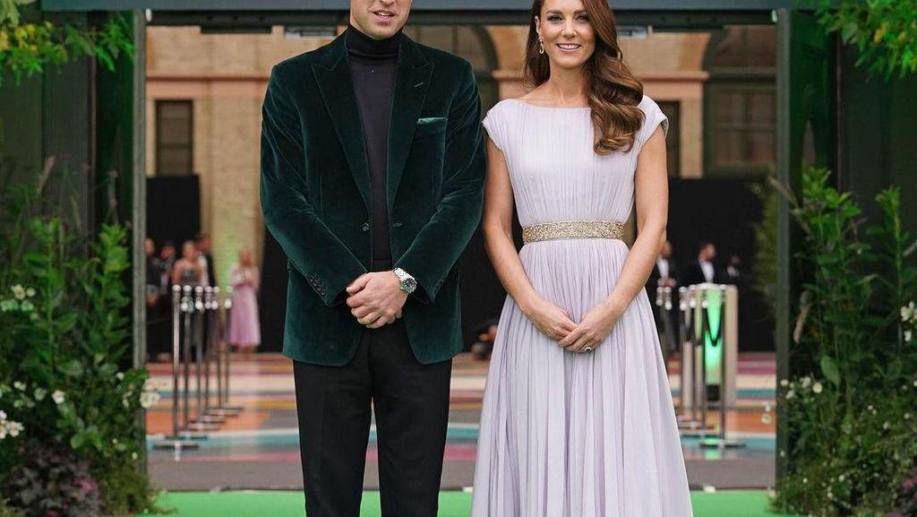 Kate Middleton Kenakan Gaun 10 Tahun Lalu di Earthshot Prize 2021
