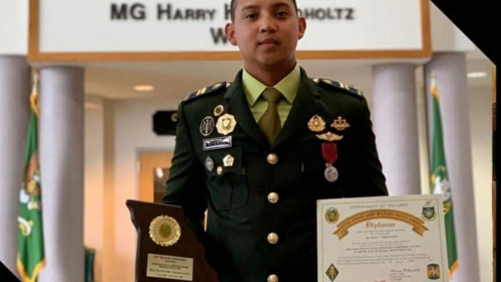 Top! Perwira Muda TNI AD Raih Gelar Siswa Internasional Terbaik di AS