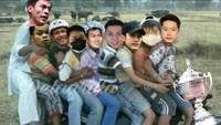 Meme Kocak Selebrasi Kemenangan Tim Indonesia di Thomas Cup 2020