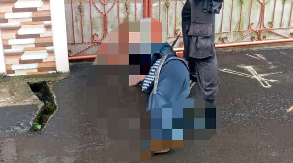 Pembacok Celurit Menancap di Kaki Pelajar di Sukabumi Ditangkap