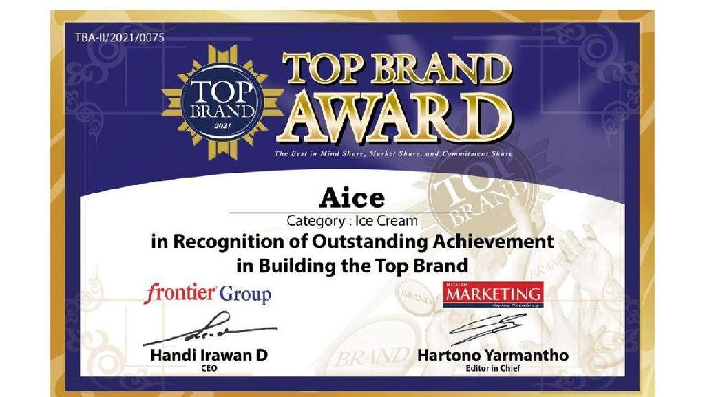AICE Raih TOP Brands Award & TOP Brands for Kids 3 Tahun Beruntun