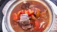Resep Sup Tomat Iga Sapi yang Gurih Segar Buat Penghangat Badan