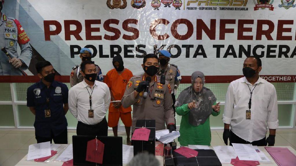 Pelaku Curanmor di Tangerang Ditangkap, Penadah Masih Diburu