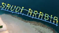 Mengenal Pure Beach, Pantai Bikini di Arab Saudi dan Hal-Hal yang Dilarang