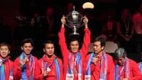 Indonesia Juara Piala Thomas, Atlet Debutan Alami Perubahan Ranking