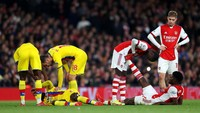 Arsenal Vs Crystal Palace Berakhir Imbang 2-2