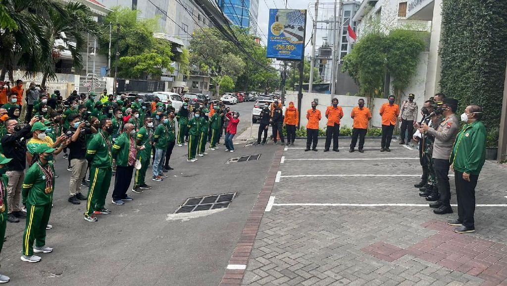 Atlet PON Kontingen Jatim Dikarantina di 3 Hotel Surabaya