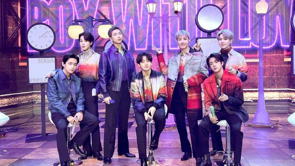 BTS dan Squid Game Masuk Daftar Nominasi Peoples Choice Awards