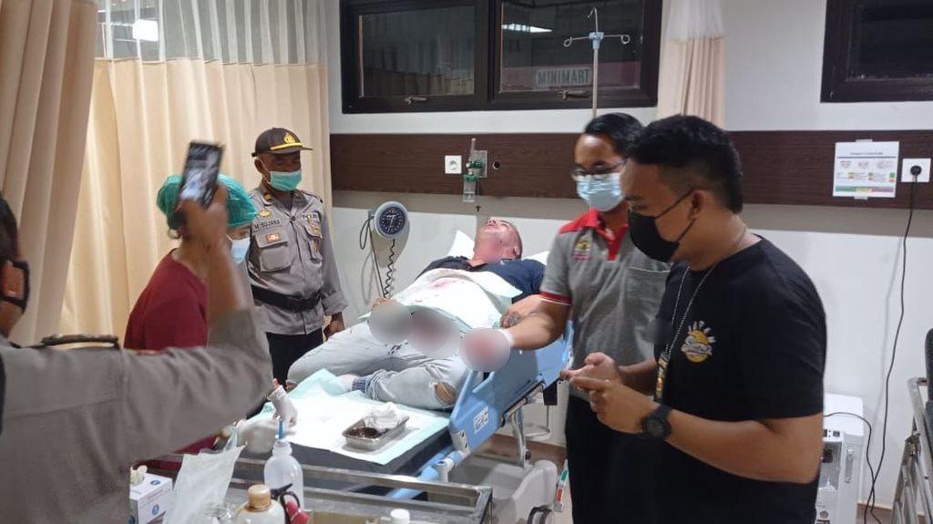 Duel-Serang Lawannya Pakai Pecahan Botol, WN Maroko di Badung Bali Tersangka