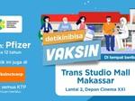 Sambut HUT Ke-11, TSM Makassar Gelar Vaksinasi COVID-19 Pfizer Gratis
