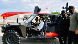 Begini Ketangguhan Rantis P6 ATAV V1 yang Dipakai Jokowi Susuri Tarakan