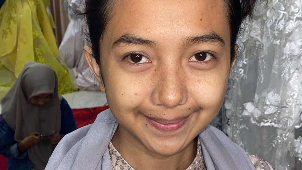 Viral Wanita Ini Sering Dibilang Bocil, Hasil Makeupnya Bikin Melongo