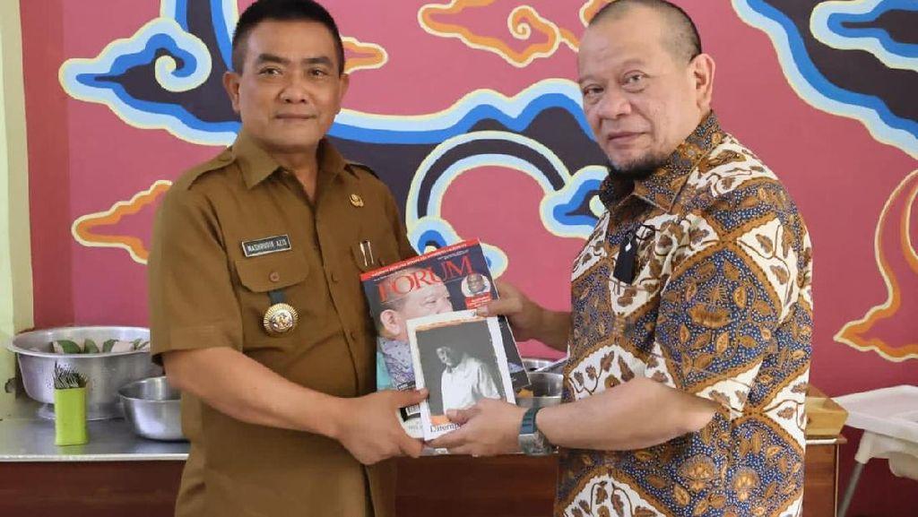 Ketua DPD Puji Capaian Vaksinasi Cirebon hingga Masuk PPKM Level 2
